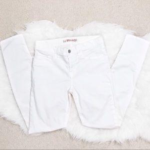 J Brand Creamy White Skinny Leg Jeans Size 27